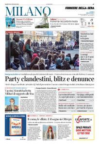 Corriere della Sera Milano – 12 gennaio 2021