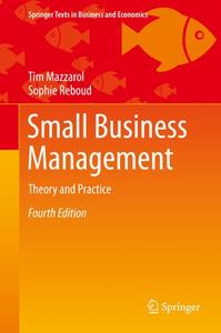Small Business Management: Theory and Practice