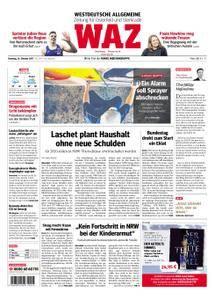WAZ Westdeutsche Allgemeine Zeitung Oberhausen-Sterkrade - 24. Oktober 2017