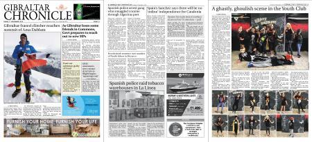 Gibraltar Chronicle – 01 November 2019
