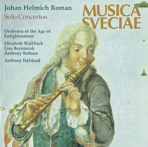 Anthony Halstead, Orchestra of the Age of Enlightenment - Johan Helmich Roman: Solo Concertos (1994)
