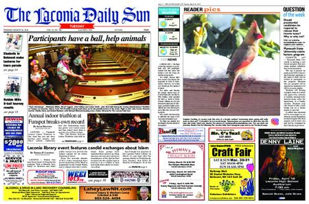 The Laconia Daily Sun – March 26, 2019