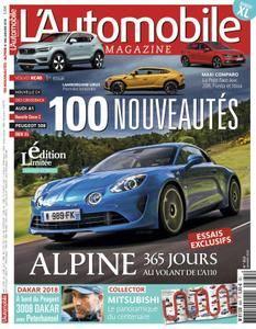 L'Automobile Magazine - janvier 2018