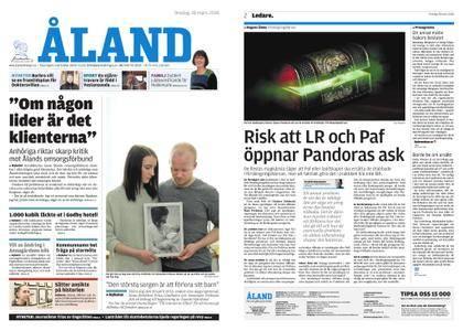 Ålandstidningen – 28 mars 2018