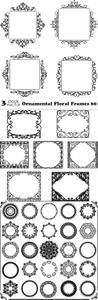 Vectors - Ornamental Floral Frames 60