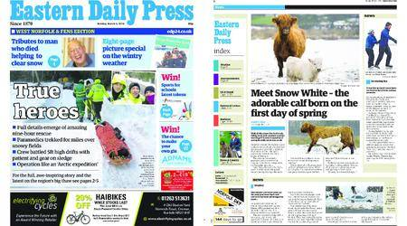 Eastern Daily Press – March 05, 2018