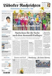 Lübecker Nachrichten Ostholstein Süd - 06. September 2017