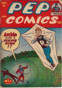 Some 40s  50s Archie  Friends -Pep Comics 045 now upgrade