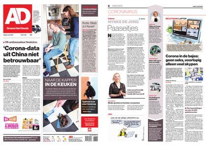 Algemeen Dagblad - Gouda – 03 april 2020