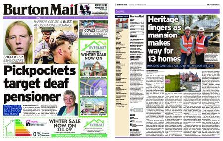 Burton Mail – October 23, 2018