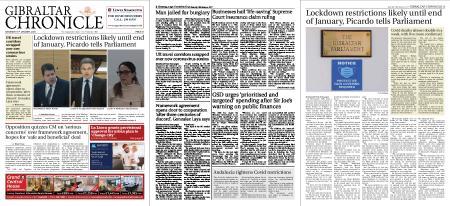 Gibraltar Chronicle – 16 January 2021