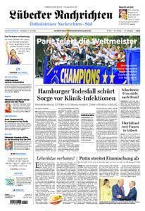 Lübecker Nachrichten Ostholstein Süd - 17. Juli 2018