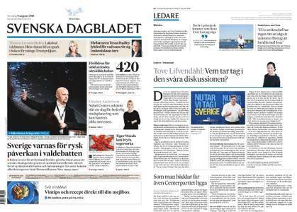 Svenska Dagbladet – 09 augusti 2018