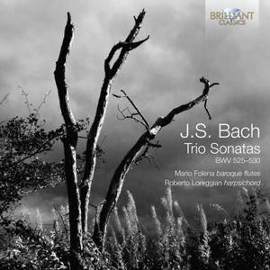 Mario Folena, Roberto Loreggian - Johann Sebastian Bach: Trio Sonatas, BWV 525-530 (2014)