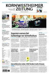 Kornwestheimer Zeitung - 25. Oktober 2017