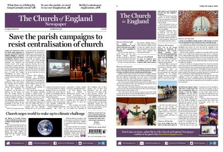 The Church of England – August 19, 2021