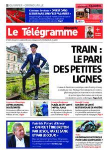 Le Télégramme Ouest Cornouaille – 11 octobre 2020