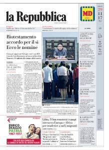 la Repubblica - 29 Novembre 2017