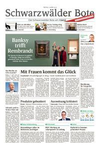 Schwarzwälder Bote Sulz - 08. März 2019