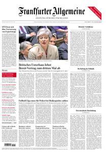 Frankfurter Allgemeine Zeitung F.A.Z. - 30. März 2019