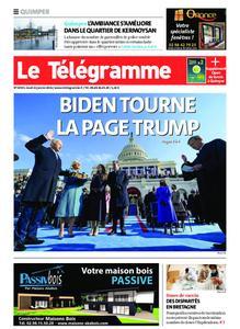 Le Télégramme Quimper – 21 janvier 2021