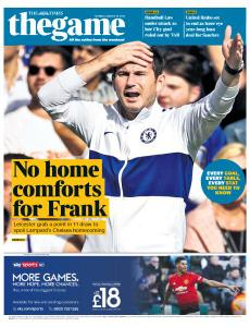 The Times - The Game - 19 August 2019