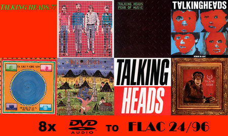 Talking Heads - The Studio Albums: 1977-1988 (2005/2006) [FLAC