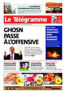 Le Télégramme Brest – 09 janvier 2020