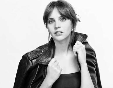 Felicity Jones by Sarah Dunn for 'Rogue One'