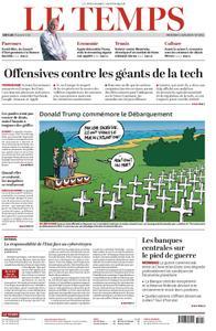 Le Temps - 05 juin 2019