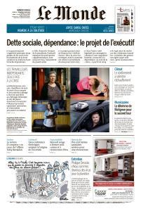 Le Monde du Jeudi 21 et Vendredi 22 Mai 2020