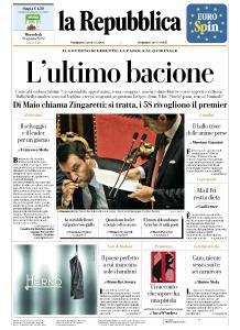 la Repubblica - 21 Agosto 2019
