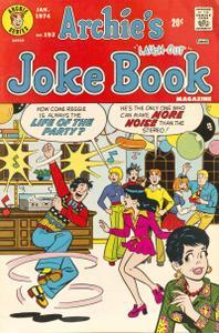 Archies Joke Book Magazine 192 1974