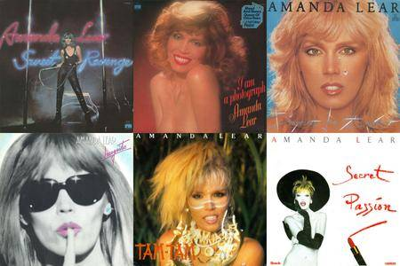Amanda Lear: Collection (1978 - 1986) [Vinyl Rip 16/44 & mp3-320] Re-up