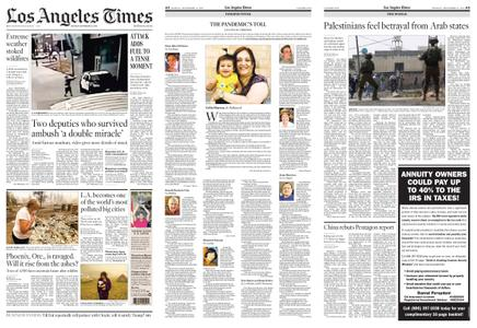 Los Angeles Times – September 14, 2020