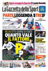 La Gazzetta dello Sport – 26 gennaio 2019