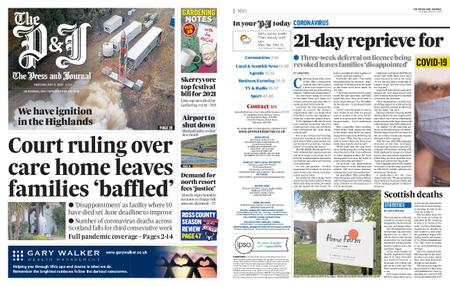 The Press and Journal Moray – May 21, 2020