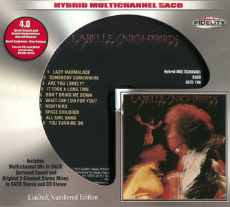 Labelle - Nightbirds (1974) [Audio Fidelity 2015] MCH PS3 ISO + Hi-Res FLAC