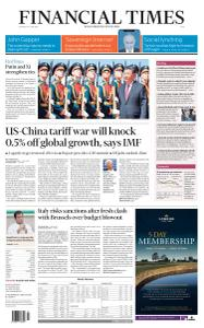 Financial Times Asia - June 6, 2019