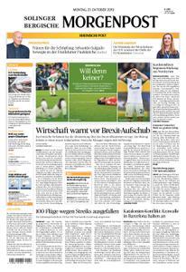 Solinger Morgenpost – 21. Oktober 2019