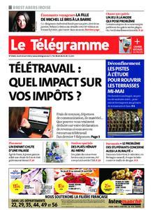 Le Télégramme Brest Abers Iroise – 22 avril 2021