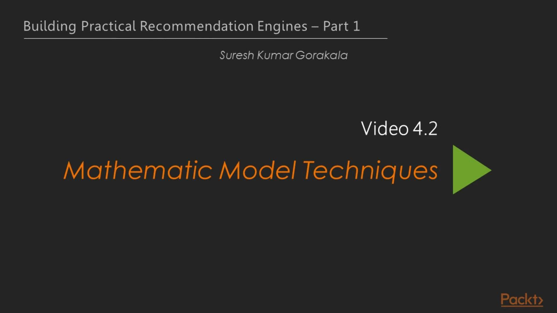Building Practical Recommendation Engines – Part 1