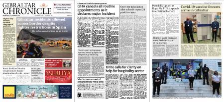 Gibraltar Chronicle – 23 December 2020