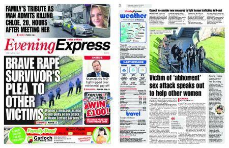 Evening Express – March 13, 2018