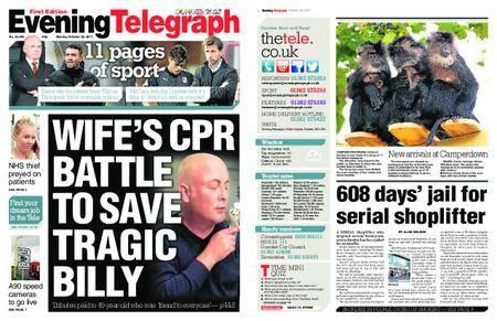 Evening Telegraph First Edition – October 30, 2017