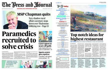 The Press and Journal Moray – May 17, 2018