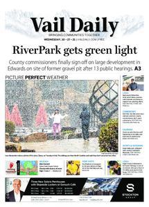 Vail Daily – October 27, 2021