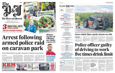 The Press and Journal Moray – August 24, 2019
