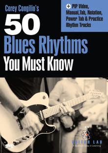 Truefire - Corey Congilio's 50 Blues Rhythms You Must Know