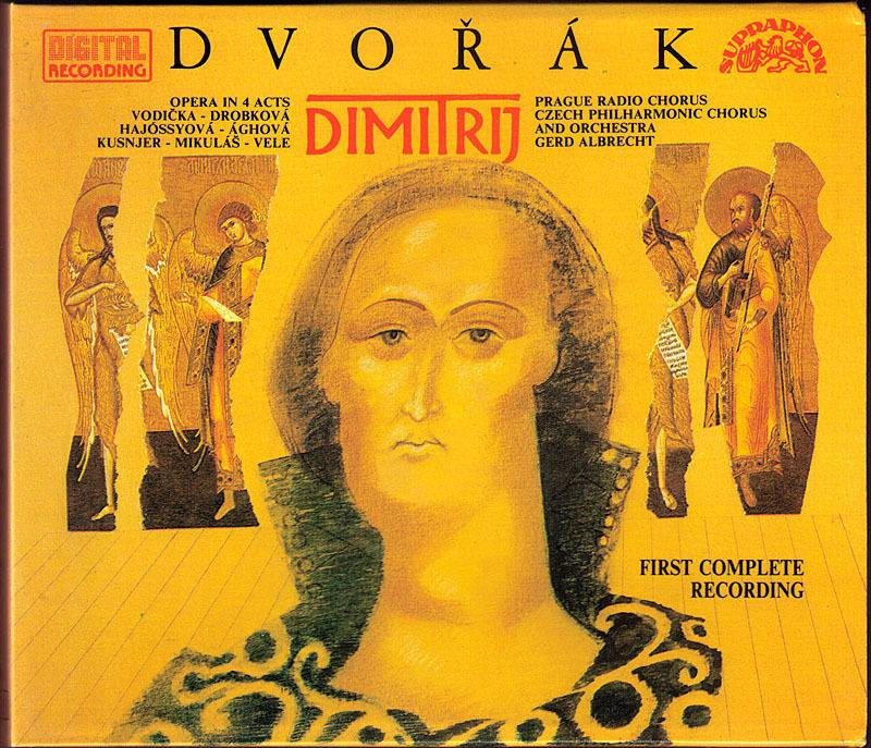 Czech Philharmonic Chorus and Orchestra, Gerd Albrecht - Dvorak: Dimitrij (1991)